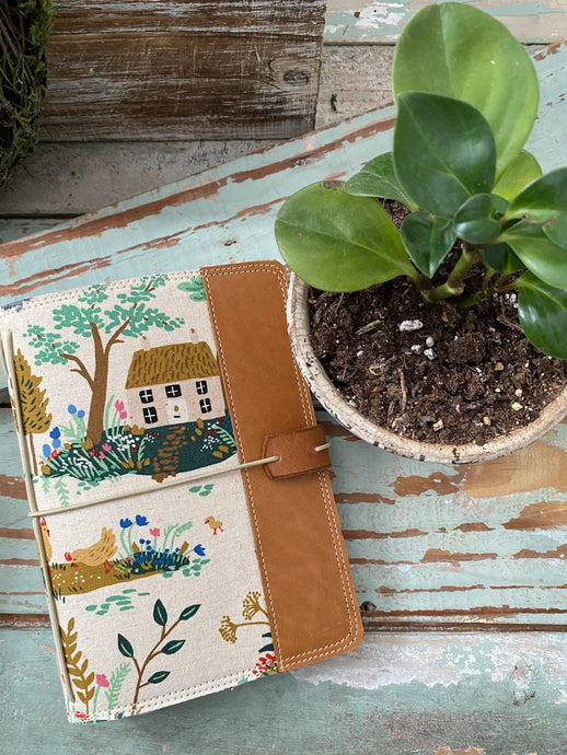 The Cedar Journal in Cottage Garden