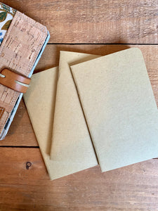 Refill inserts for Mini Journals