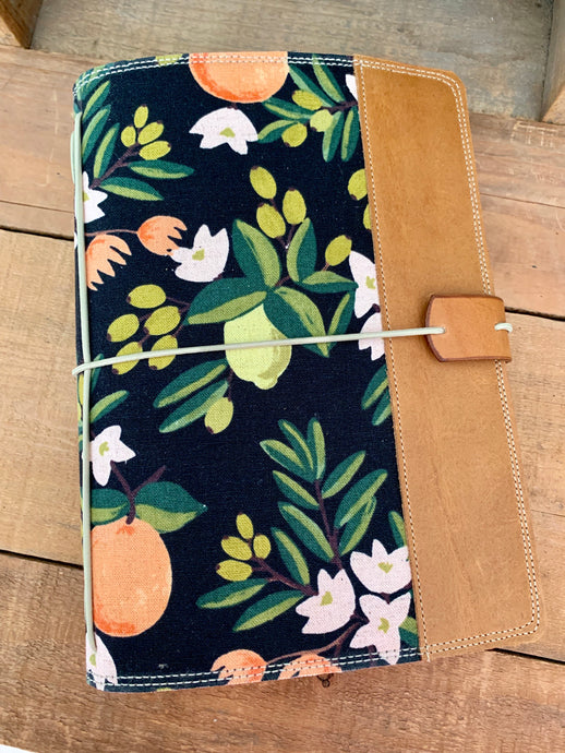 Citrus Blossom in Black Cedar Journal