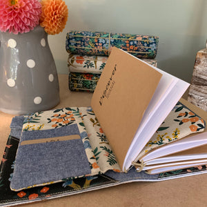 Wildflower in Natural Cedar Journal