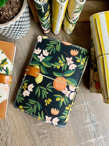 The Classic Juniper Journal in Black Citrus Blossom
