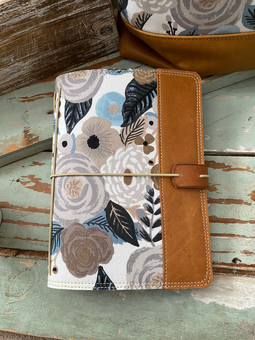 The Cedar Journal in Linen English Garden