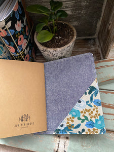 The Cedar Journal in Blue Rosa