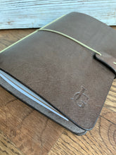 Load image into Gallery viewer, Genuine Leather Journal in Espresso