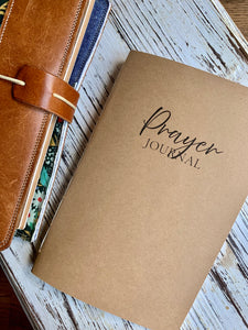 Prayer Journal Insert