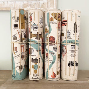 City Maps PARIS Cedar Journal