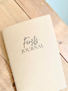 Calendar of Firsts Journal Insert