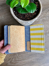 Load image into Gallery viewer, Cabana Stripe in Lemon Mini