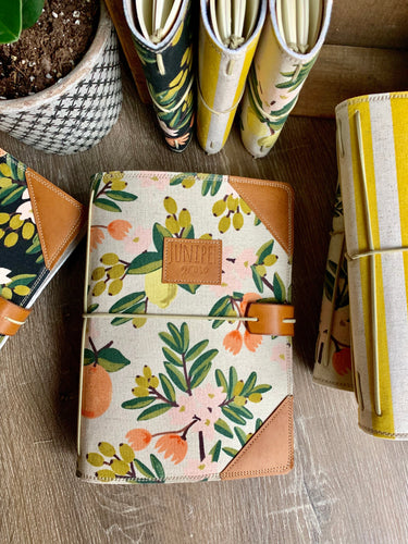 The Classic Juniper Journal in Citrus Blossom, Sand