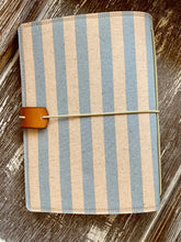Load image into Gallery viewer, Cabana Stripe in Periwinkle Juniper Journal