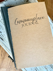 Commonplace Journal Insert