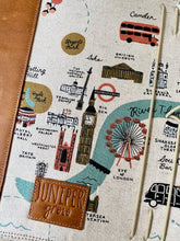 Load image into Gallery viewer, City Maps LONDON Cedar Journal