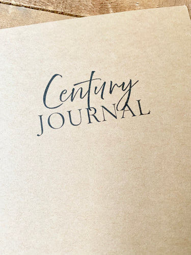 Century Journal Insert
