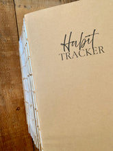 Load image into Gallery viewer, Habit Tracker Journal Insert