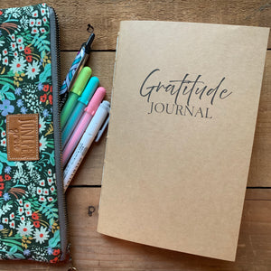 Gratitude Journal Insert