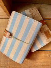Load image into Gallery viewer, Cabana Stripe in Periwinkle Mini