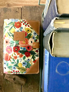 The Classic Juniper Journal in Garden Party