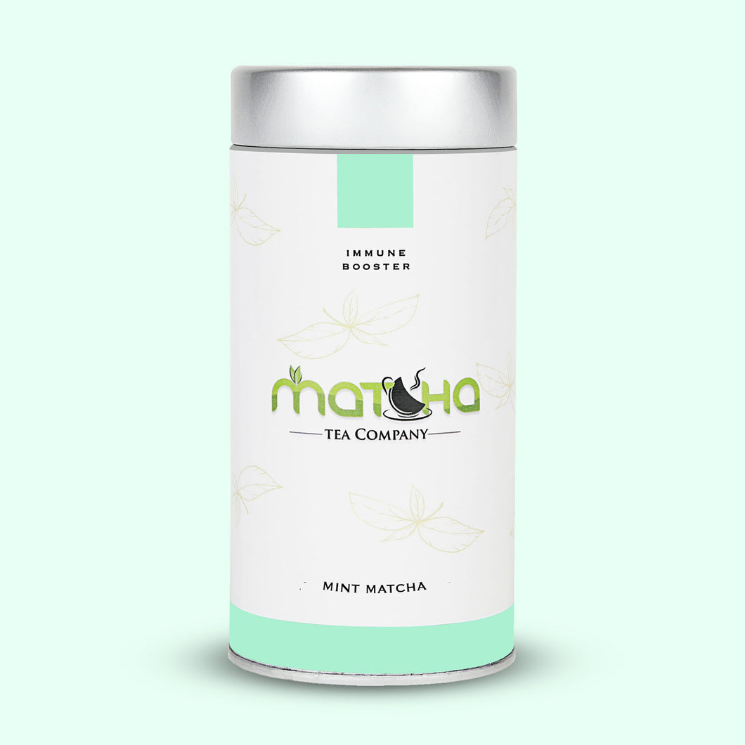 Mint Matcha Tea