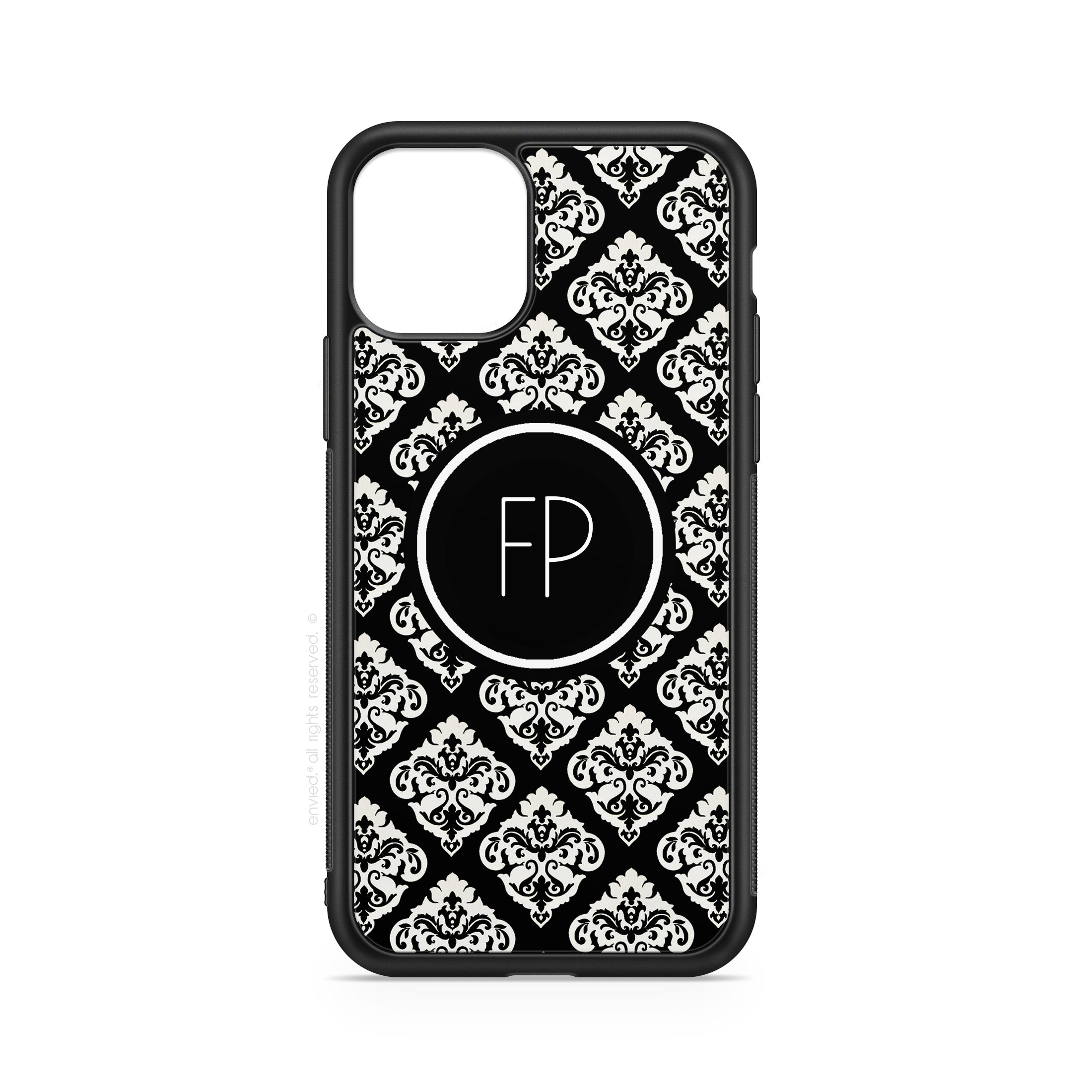 envied. black damask case n°2