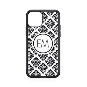 envied. black damask case n°1