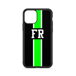 envied. initials line black white green