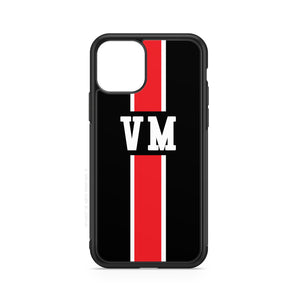 envied. initials line black white red