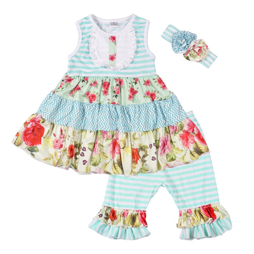 Sweet Wildflower Dress Set