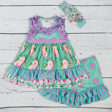Lavender Garden Dress