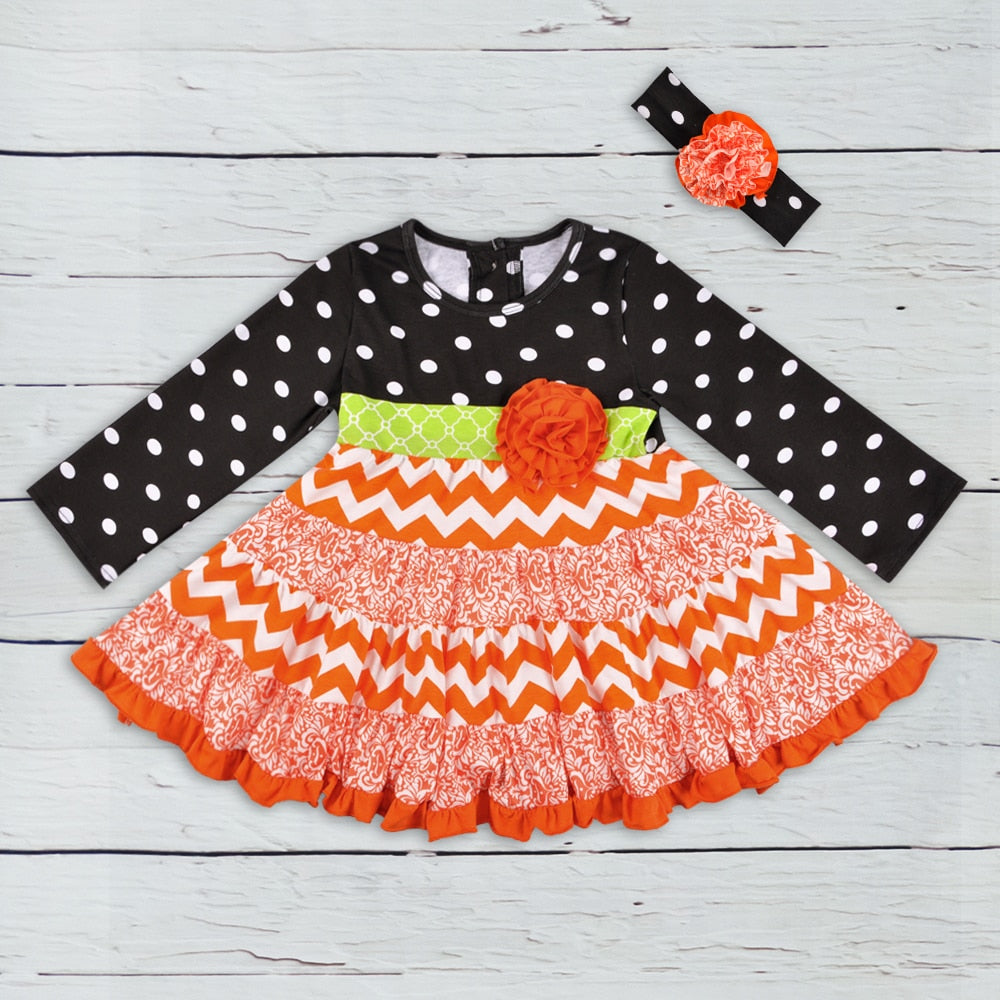Pumpkin Fall Dress