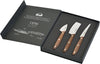 DUE CIGNI 1896 CHEESE KNIVES 3 PIECE SET