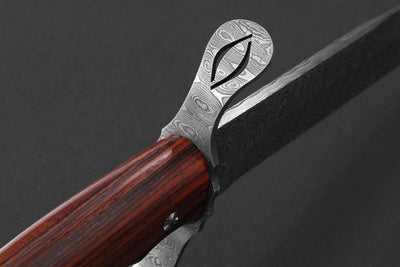 Mathusalem Damasco - Ebony Wood Handle
