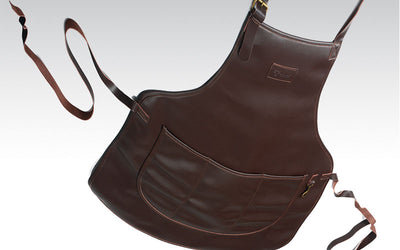 Leather Apron by Laguiole en Aubrac