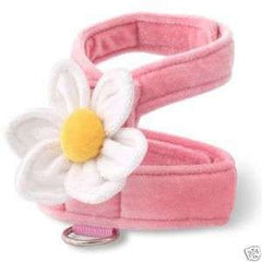 Doggles Soft Pink Flower Dog Harness