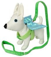Doggles Green Dragon Winged Dog Harness
