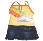 Rainbow Cloud Tank Dress Monkeydaze