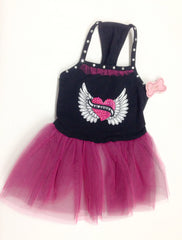 Lil Angel Tulle Dress Monkeydaze
