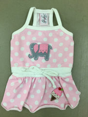 Ellie Elephant Dress Ruff Ruff Couture Small