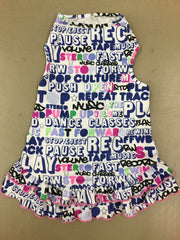 Punk Lycra Pop Culture Dress by I See Spot