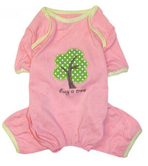 Hug A Tree Pink Pajamas