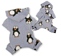 Happy Penguin Fleece Pajamas