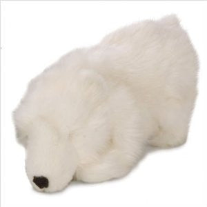 Big Polar Bear Chew Guard Dog Toy