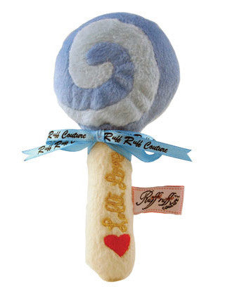 Lolli Love Blue Lollipop Dog Toy