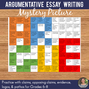 Argumentative Essay Mystery Picture
