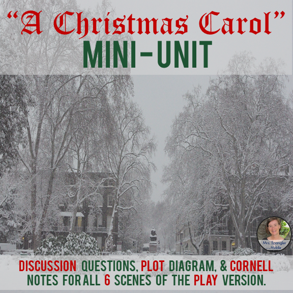 A Christmas Carol Mini-Unit for the Play Version