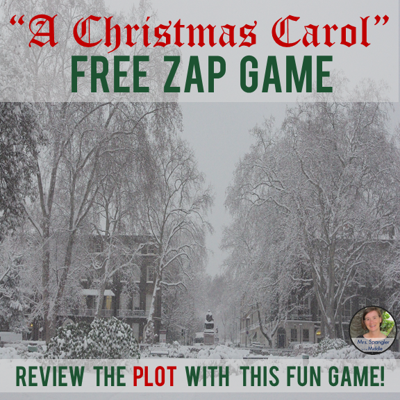 A Christmas Carol ZAP Game