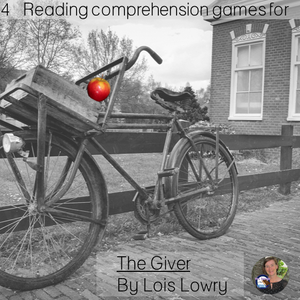 The Giver reading comprehension GAMES ~ 4 Games in all!