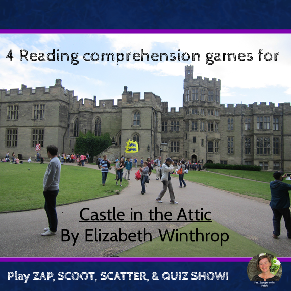 Castle in the Attic reading comprehension GAMES ~ 4 games in all!