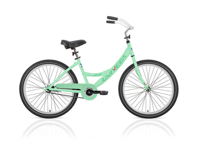 24 inch Univega Step-Thru Weekend Stroll - Light green