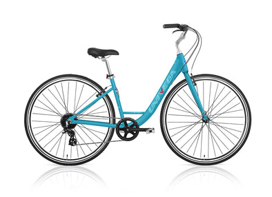 700c Step-Thru Weekend Voyage - Light Blue