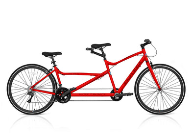 700c Viva Touring Tandem - 2 Seats 4 Pedals - Red